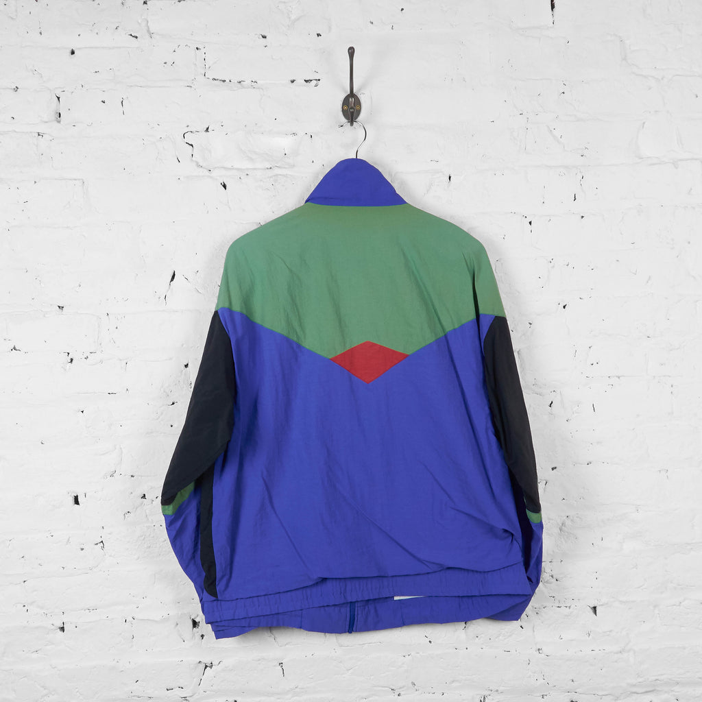 Vintage Fila Shell Jacket - Purple/Black/Green - L