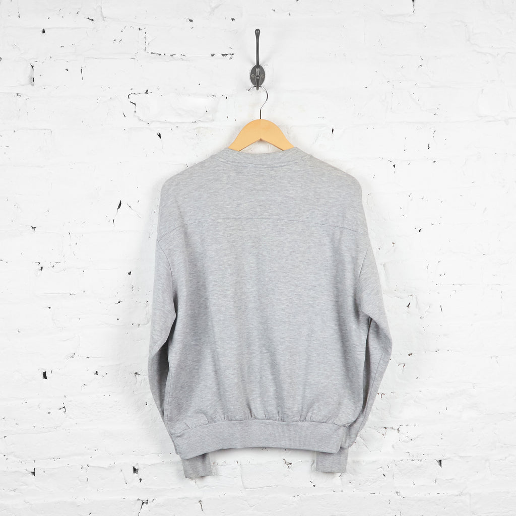 Vintage Umbro Sweatshirt - Grey - M
