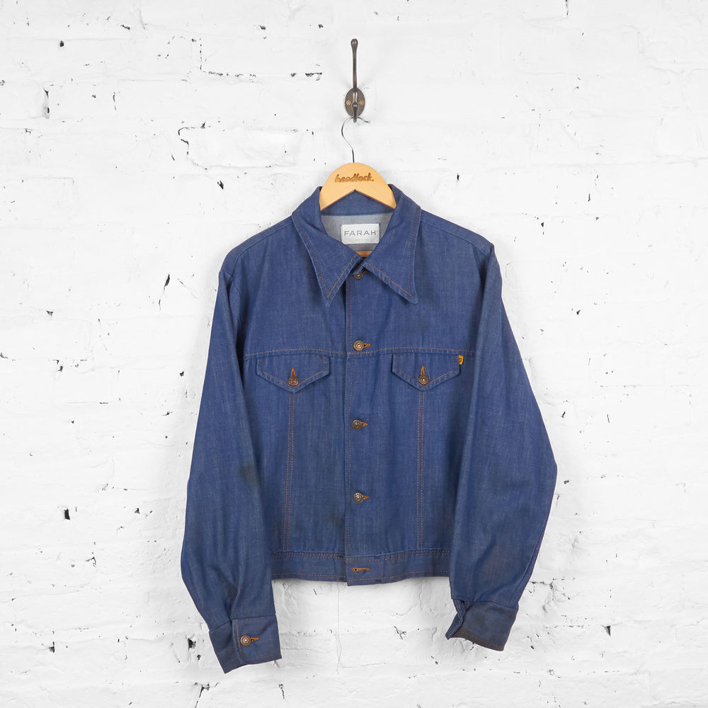 Vintage Denim Shirt/Jacket - Blue - M