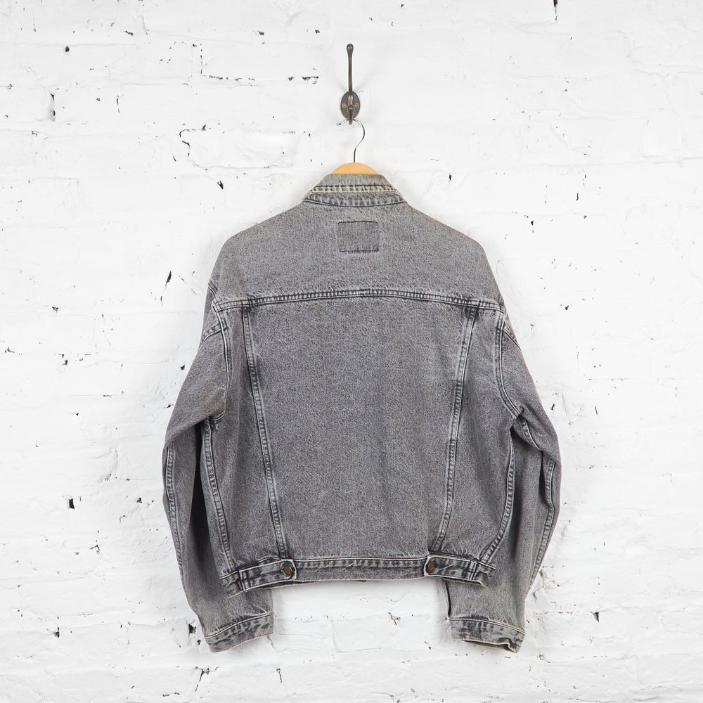 Vintage Gap Denim Jacket - Grey - L