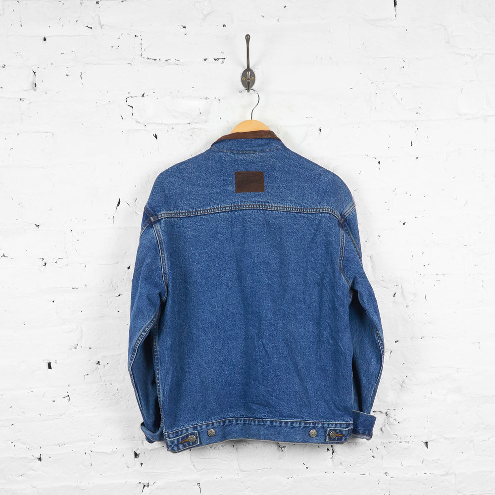 Vintage Kellogs Corn Flakes Denim Jacket - Blue - M