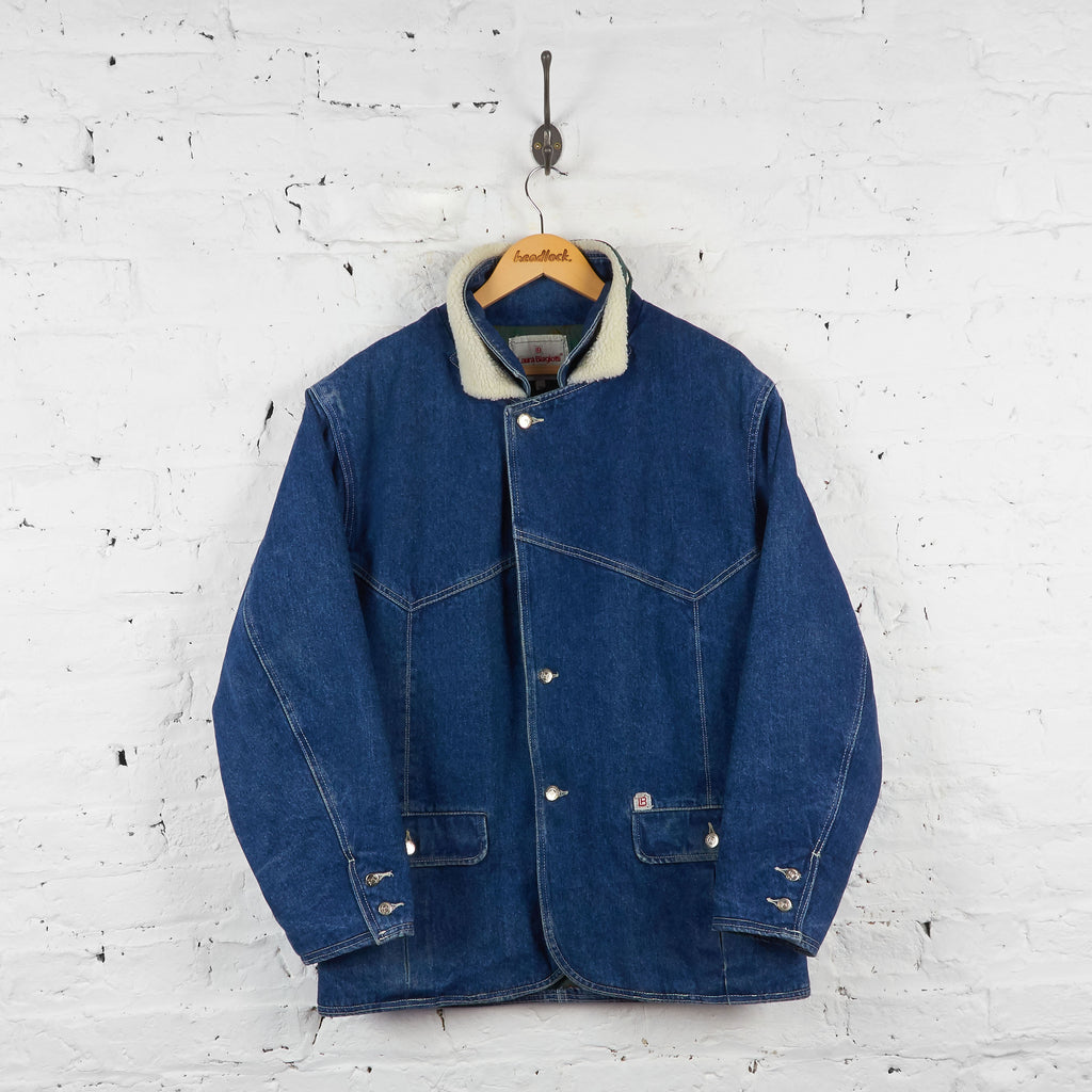 Vintage Laura Biagiotti Denim Jacket - Blue - M