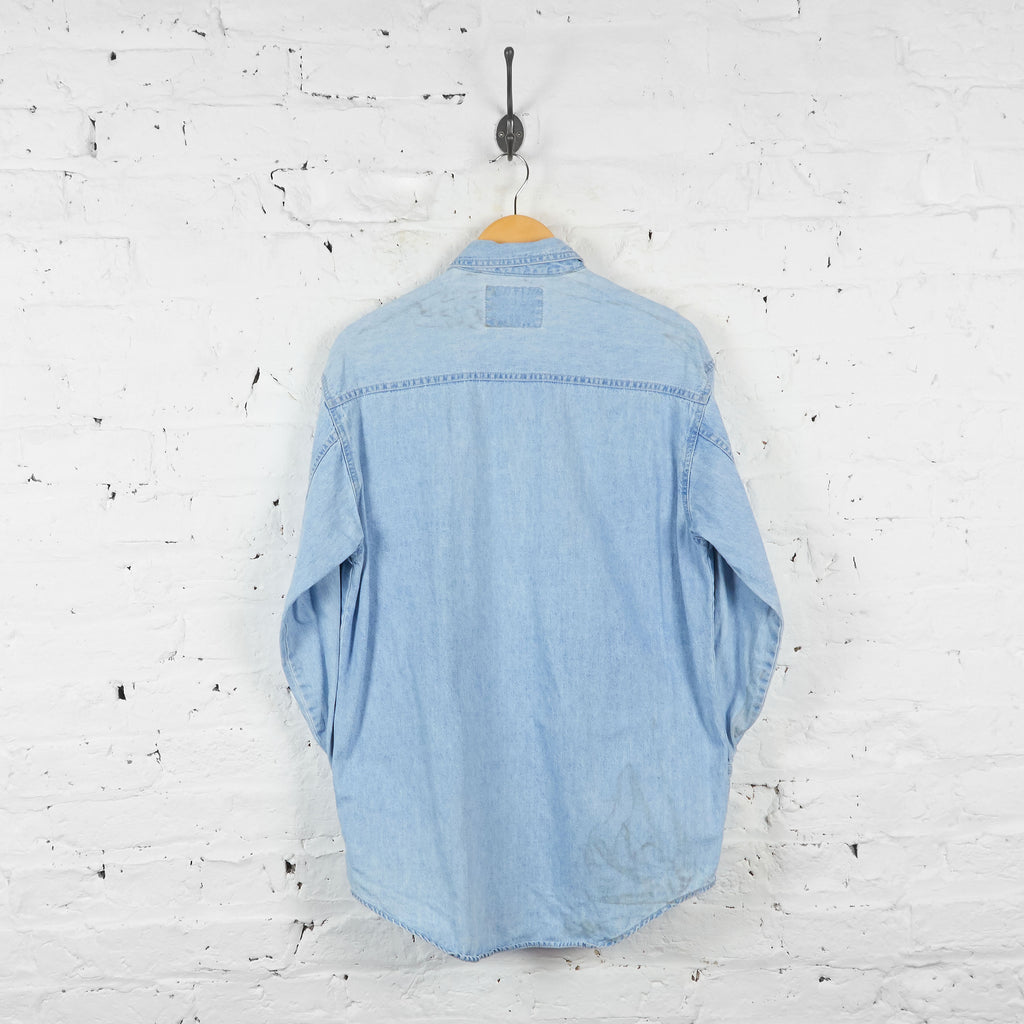 Vintage Levi's Denim Shirt - Blue - S