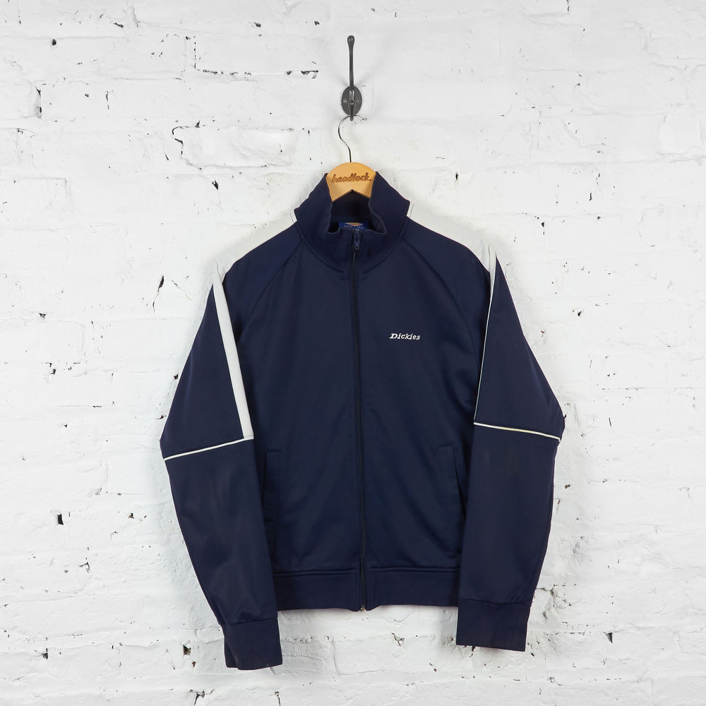 Vintage Dickies Tracksuit Top - Navy - M