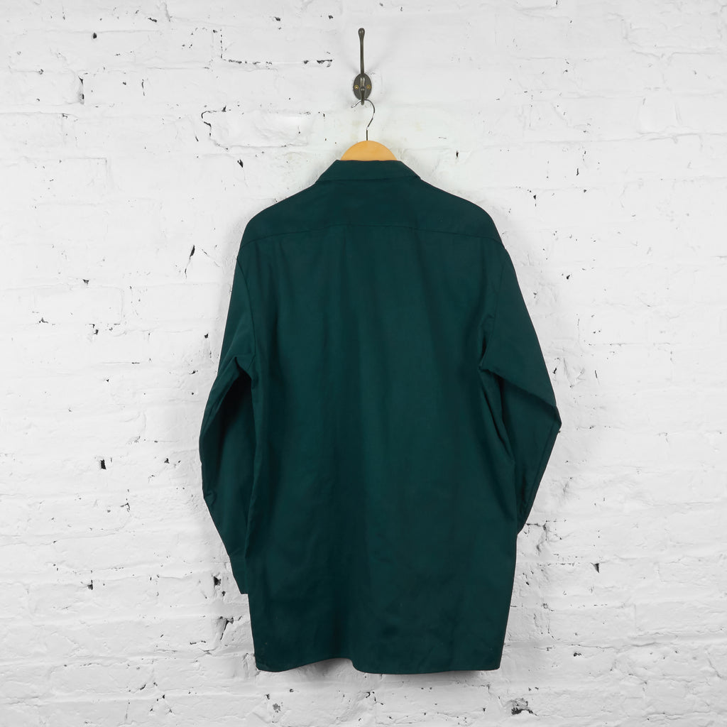 Vintage Dickies Utility Shirt - Green - L