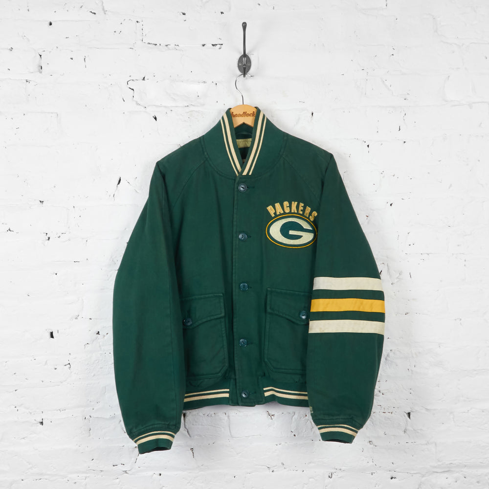 Vintage Green Bay Packers NFL Jacket - Green - M