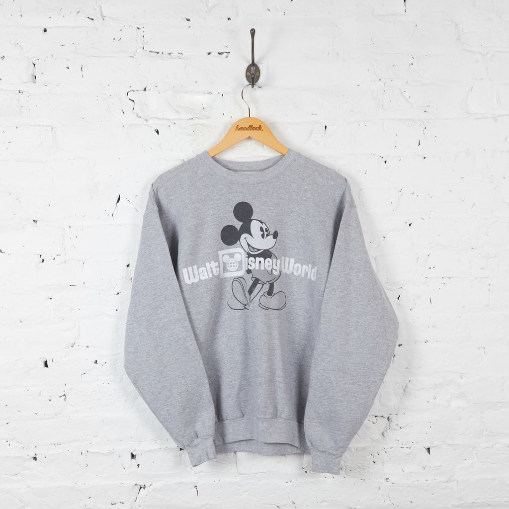 Vintage Walt Disney World Sweatshirt - Grey - M