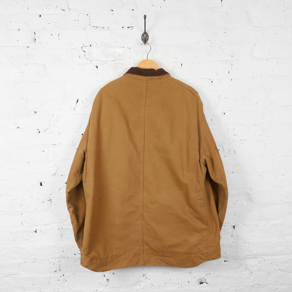 Vintage Collared Carhartt Jacket - Brown - XL