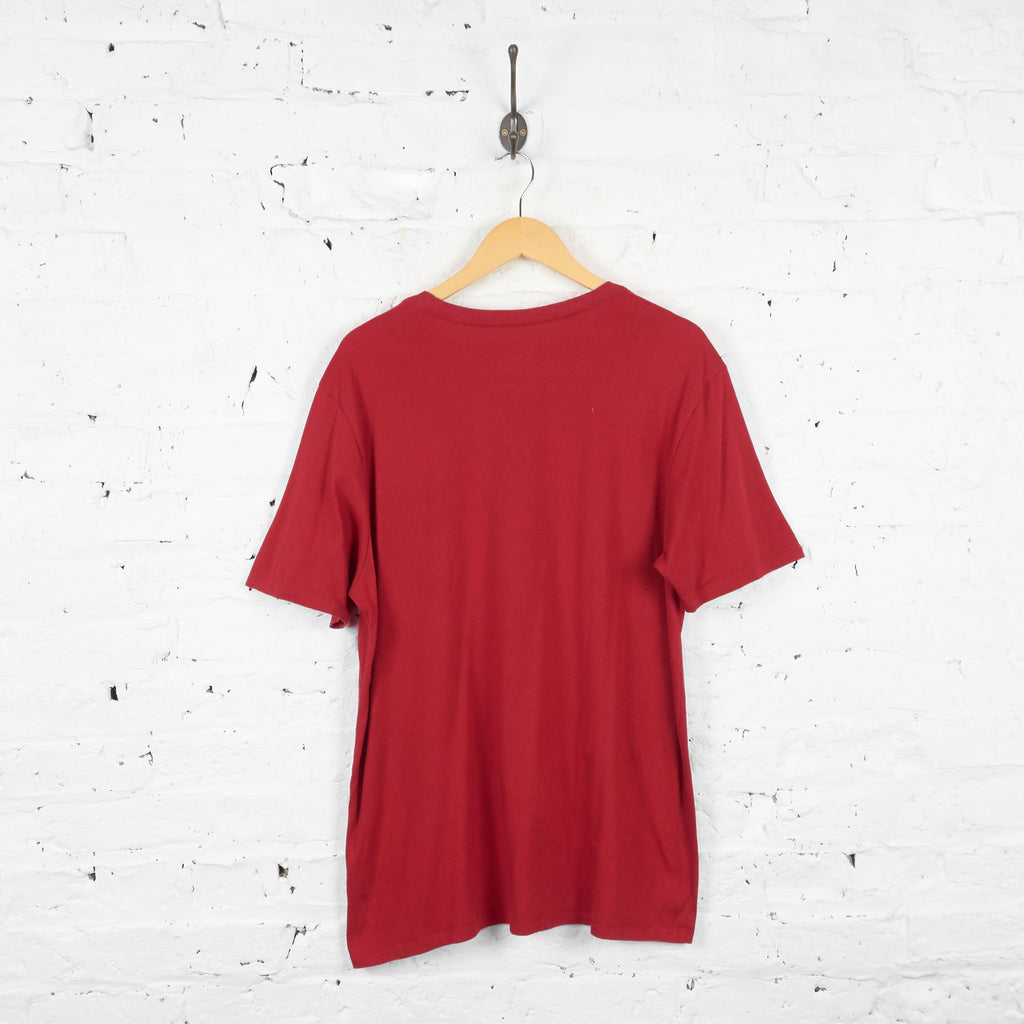 Vintage Nike T-Shirt - Red - XL - Headlock