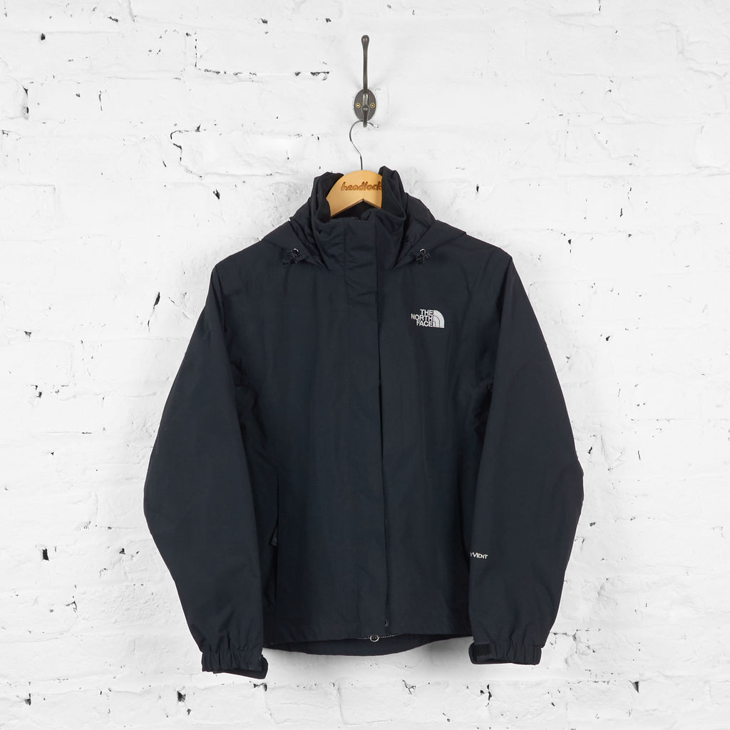 Womens The North Face Hyvent Jacket - Black - XS