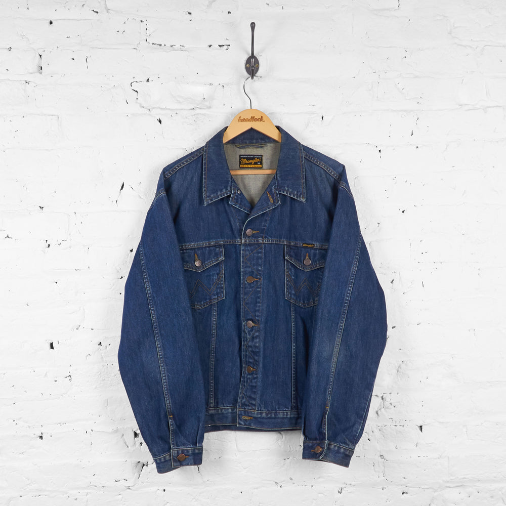 Wrangler Denim Jacket - Blue - XL - Headlock