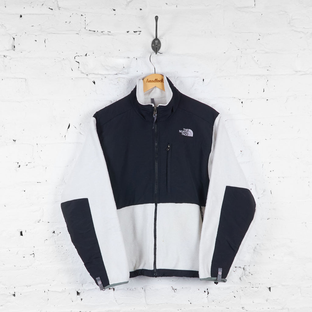 Womens The North Face Denali Fleece - White - Womens M