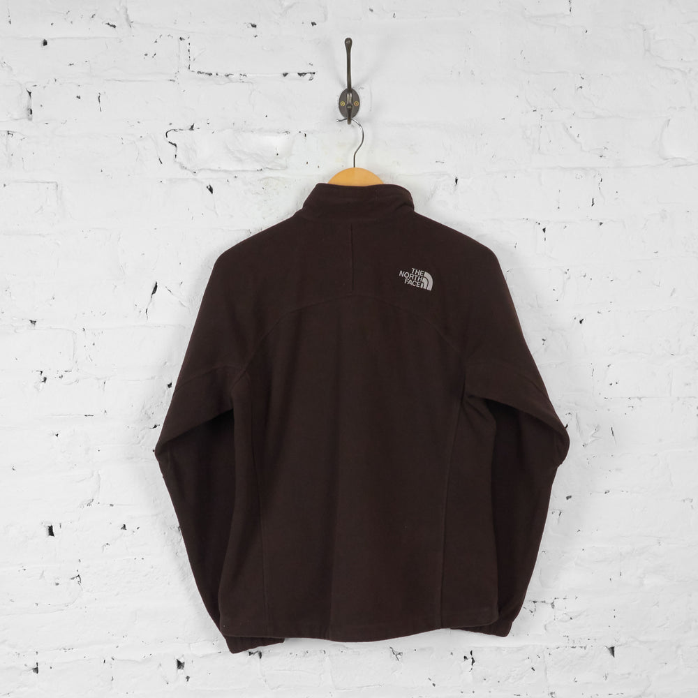 Womens The North Face Fleece - Brown - Womens M