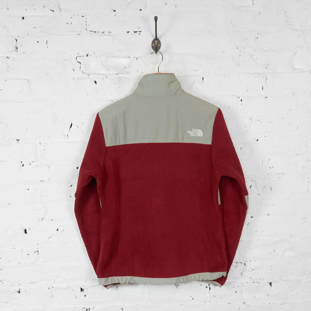 Womens The North Face Denali Fleece - Red - Womens M