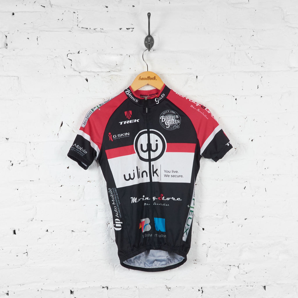 Wlink Trek Cycling Jersey - Black - XS - Headlock