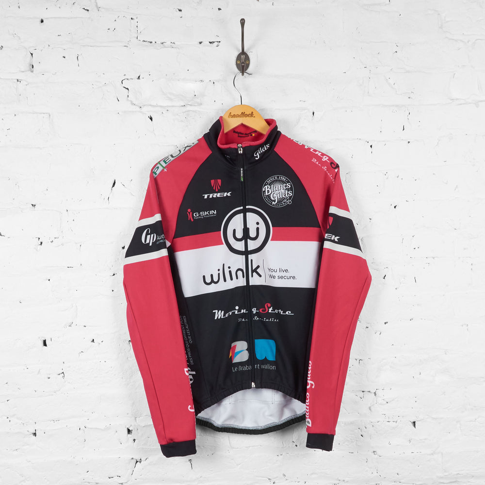 W Link Trek Long Sleeve Cycling Jersey - Black - S