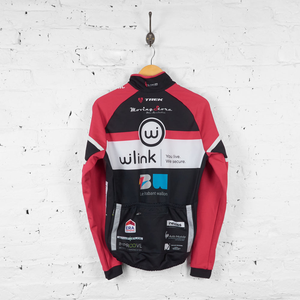 W Link Trek Long Sleeve Cycling Jersey - Black - S - Headlock