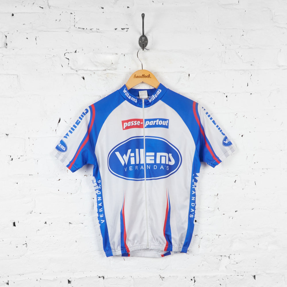 Willems Verandas Passe Partout Cycling Jersey - Grey - S - Headlock