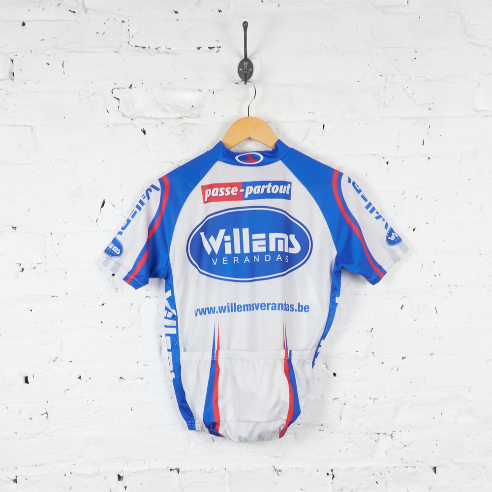 Willems Verandas Passe Partout Cycling Jersey - Grey - S