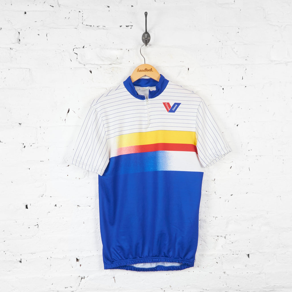 Vittore Gianni Cycling Jersey - Blue - L