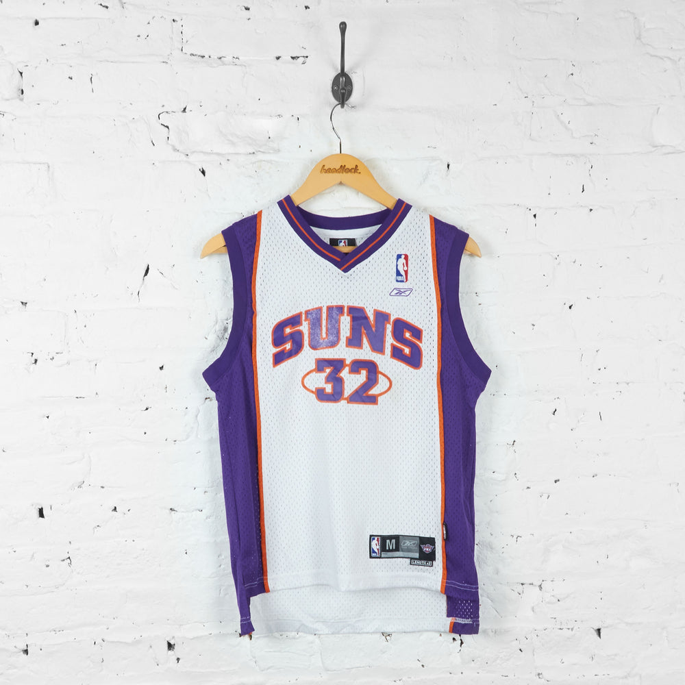 Vintage Kids Pheonix Suns NBA Jersey - White/Purple - M