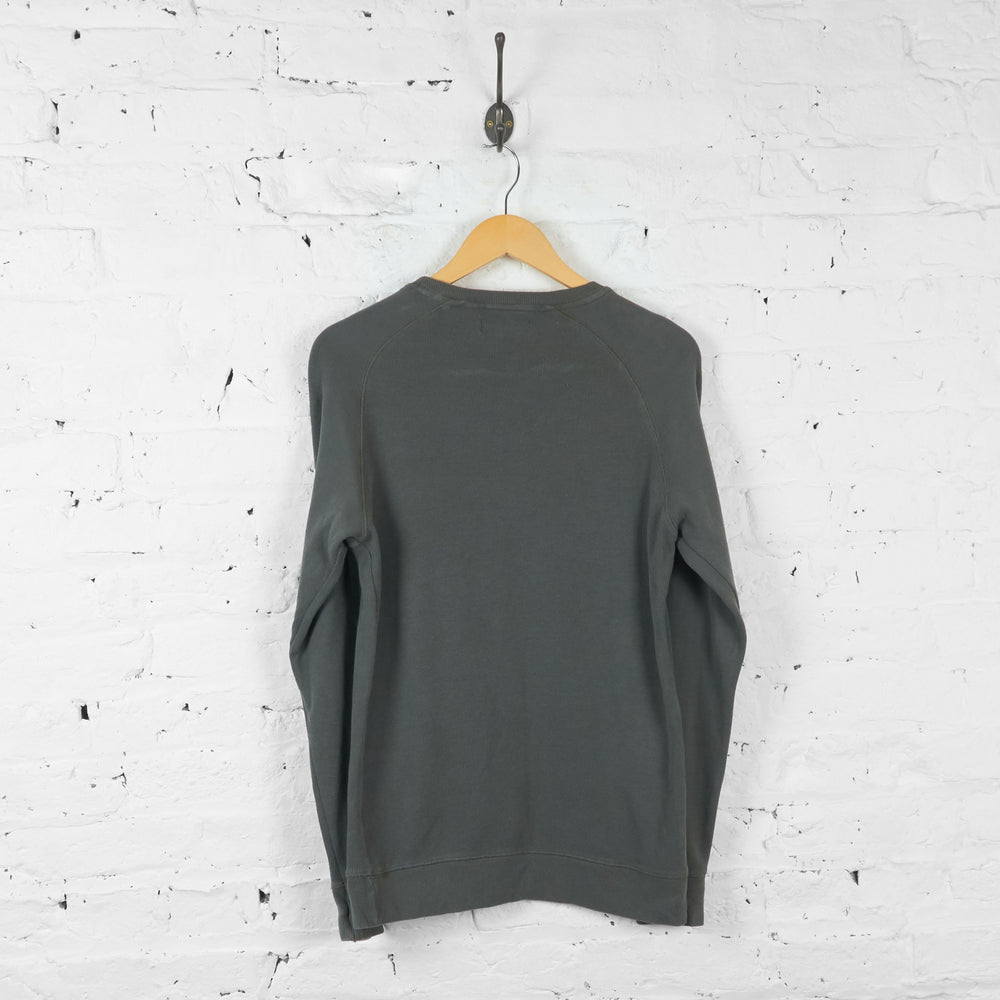 Vintage Ralph Lauren Long Sleeve T-shirt - Khaki/Grey - S