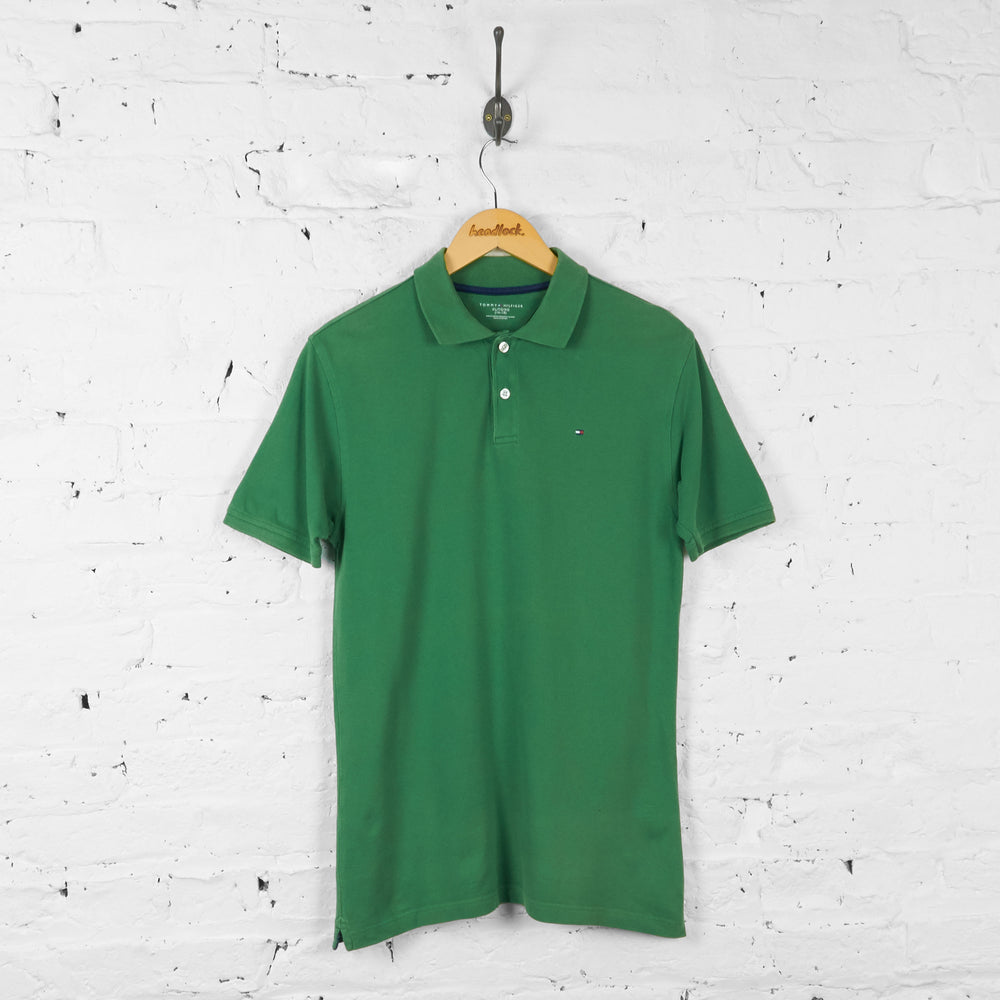 Vintage Tommy Hilfiger Polo Shirt - Green - XL