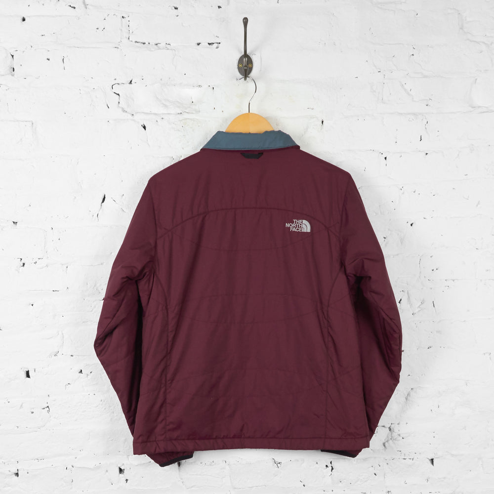 Womens The North Face Shell Jacket - Maroon - Womens M