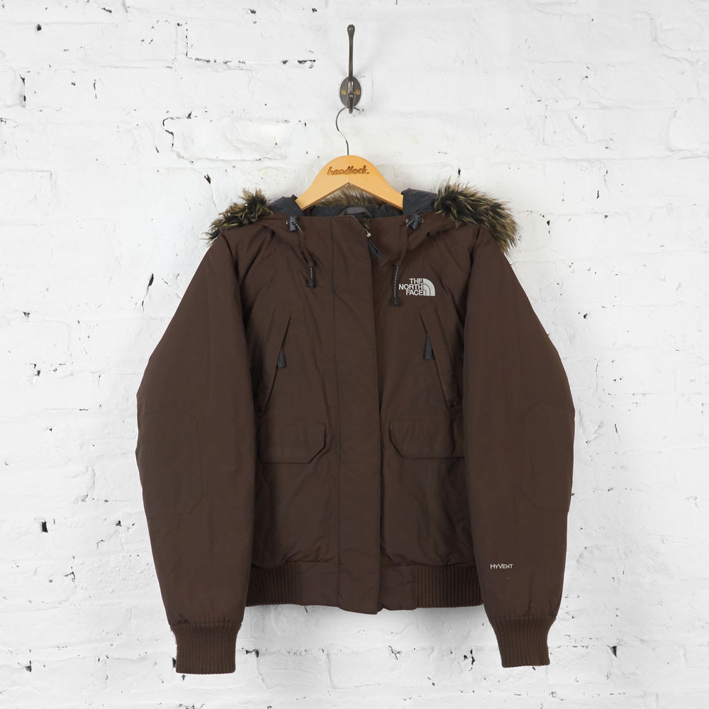 Womens The North Face Parka Jacket - Brown - Womens M