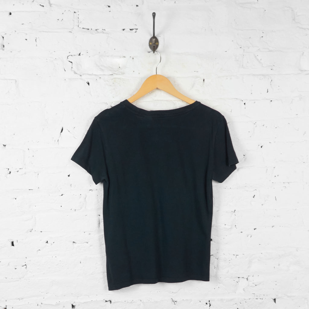 Womens Levis T Shirt - Black - Womens S - Headlock