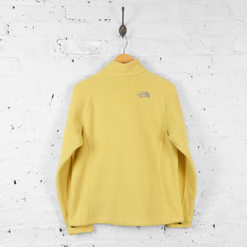 Womens The North Face Fleece - Yellow - Womens L
