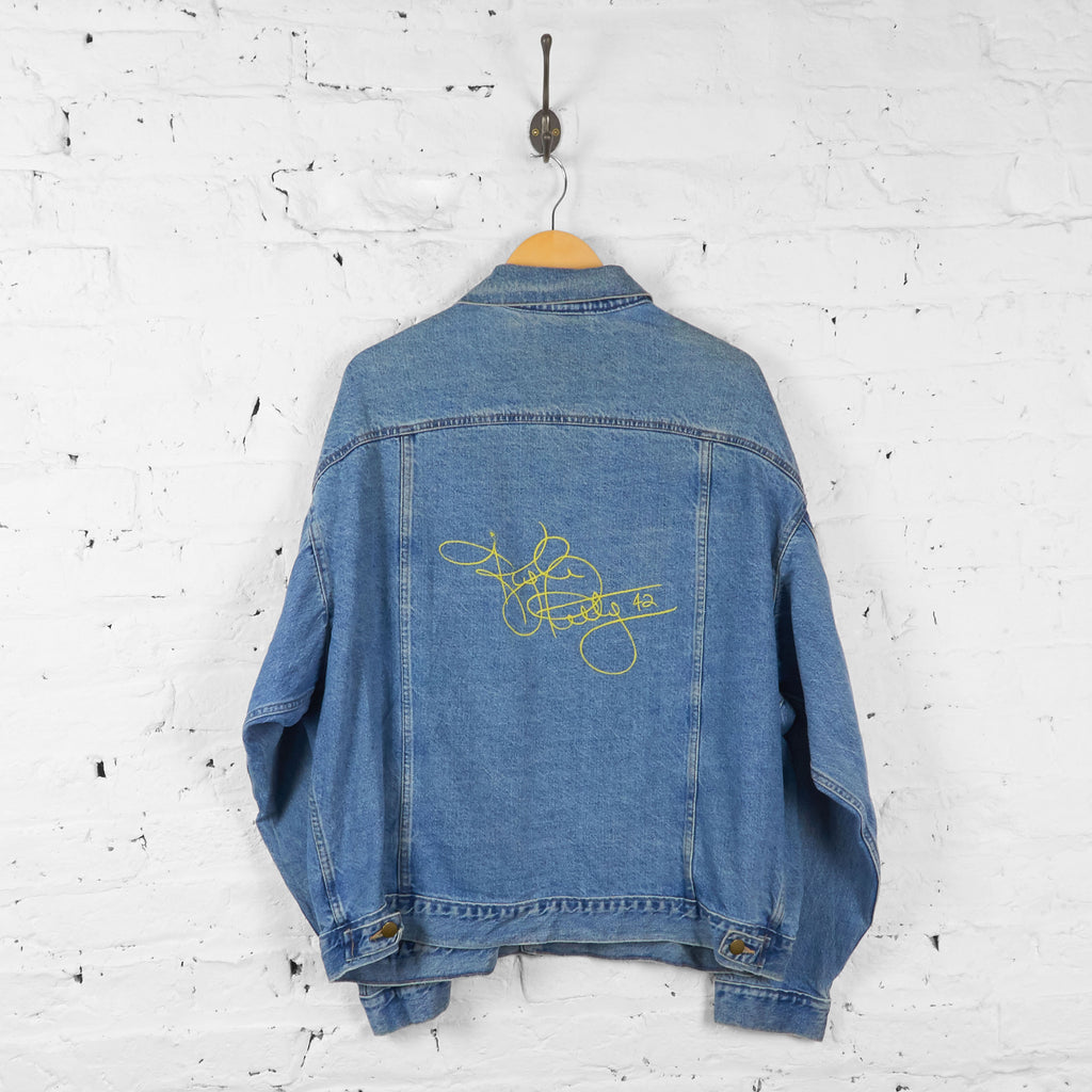 Vintage Denim Mello Yello Racing Jacket - Blue - XL - Headlock