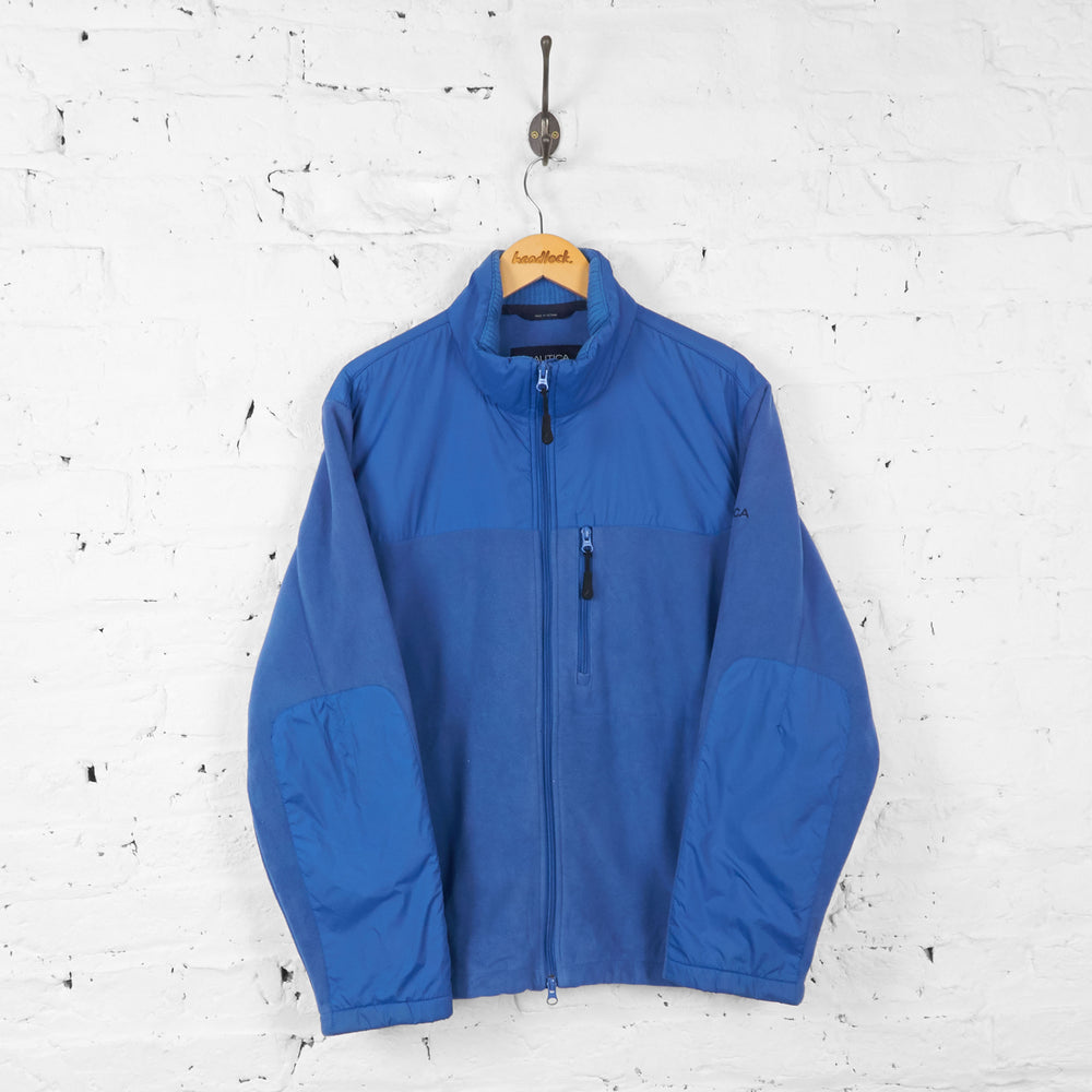 Vintage Nautica Fleece - Blue - L