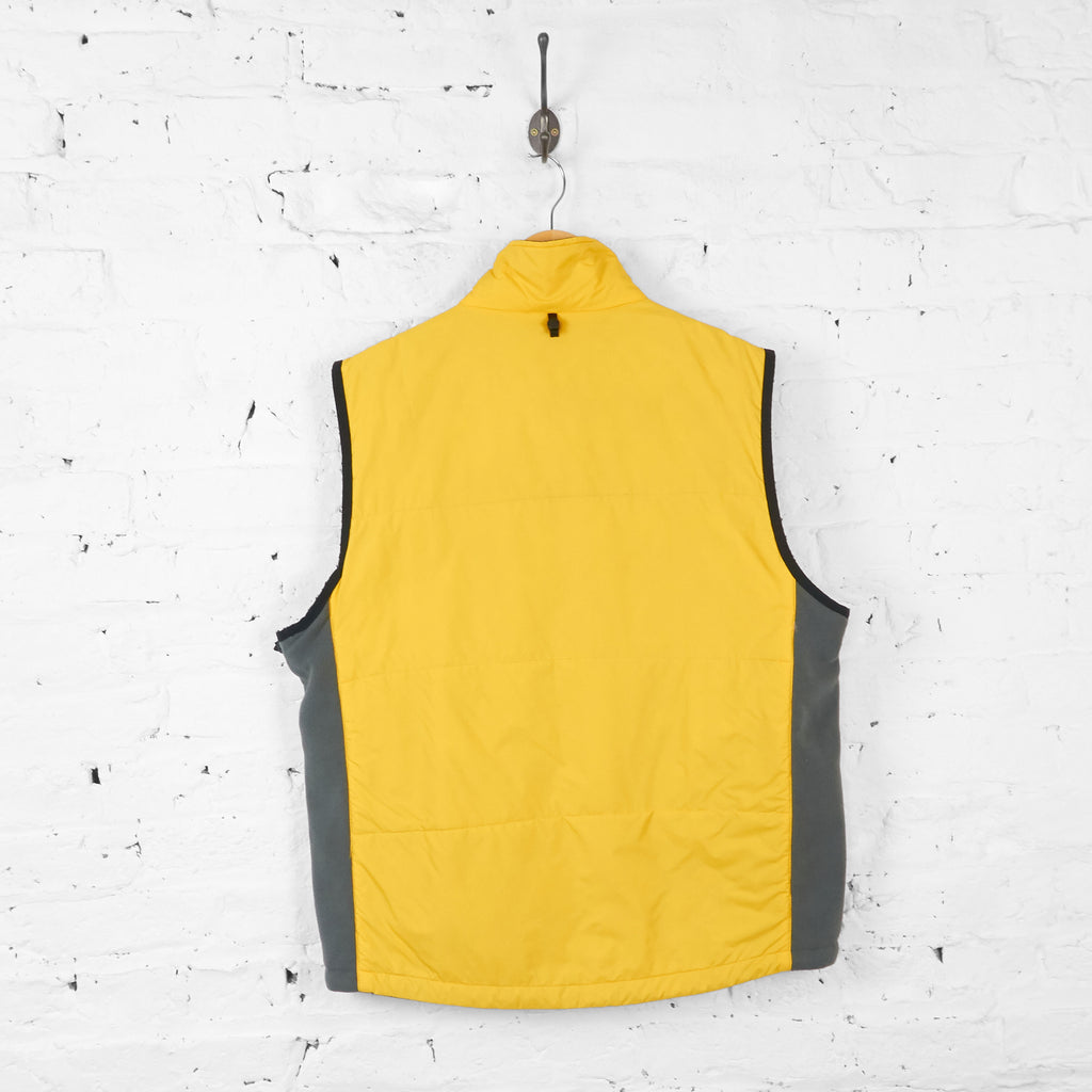 Vintage Nautica Padded Gilet - Yellow - XL