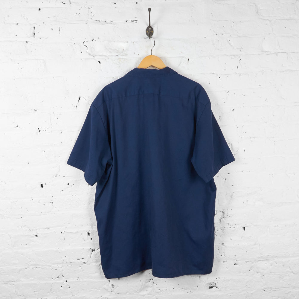 Vintage Dickies Shirt - Navy - XXL - Headlock