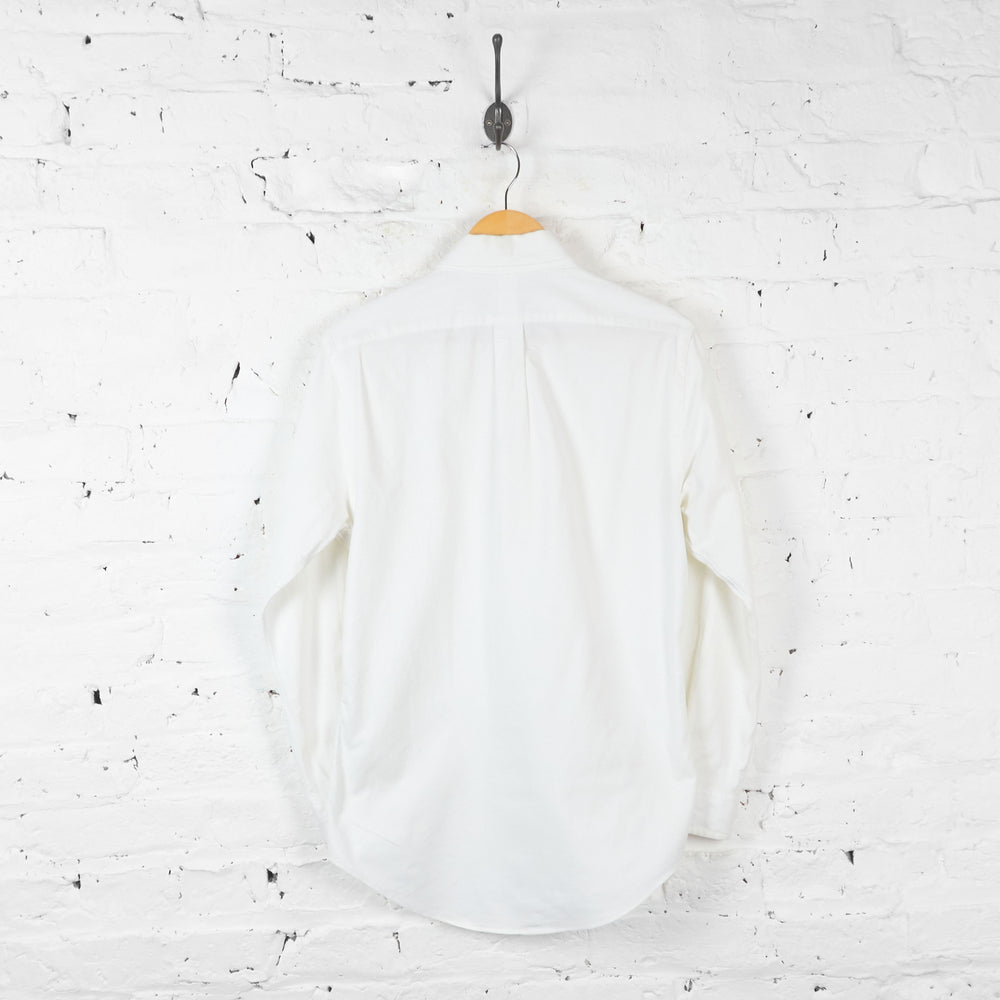 Vintage Ralph Lauren Slim Fit Shirt - White - S