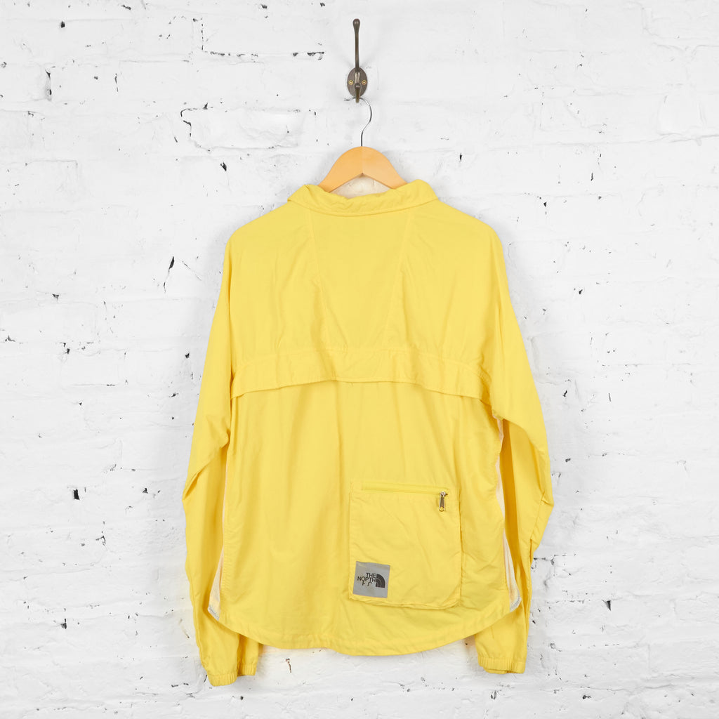 Vintage The North Face Windbreaker Shell Jacket - Yellow - L