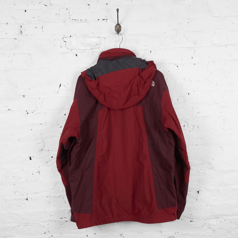 Vintage The North Face Hooded Coat - Red - XL