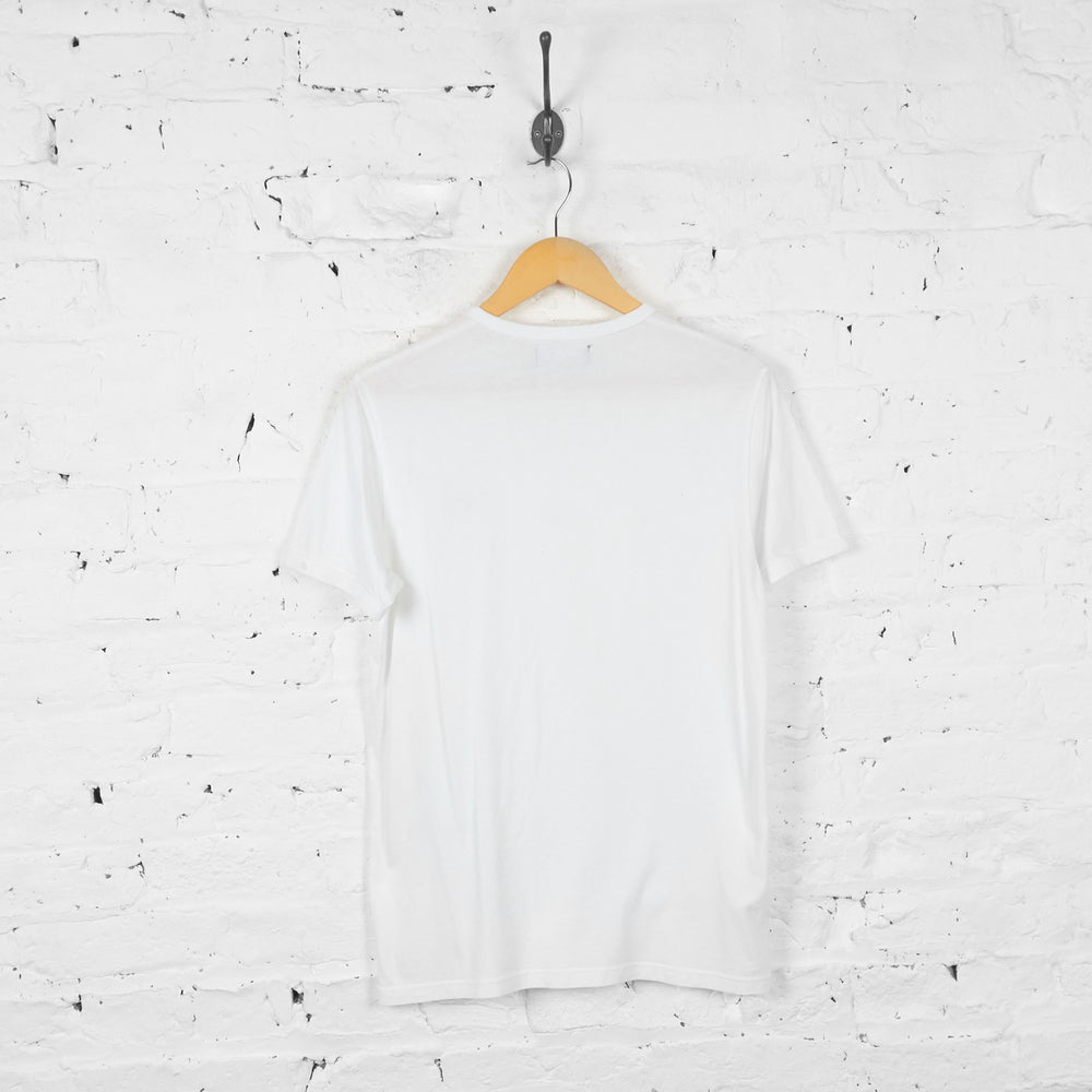 Vintage Fred Perry T-shirt - White - S