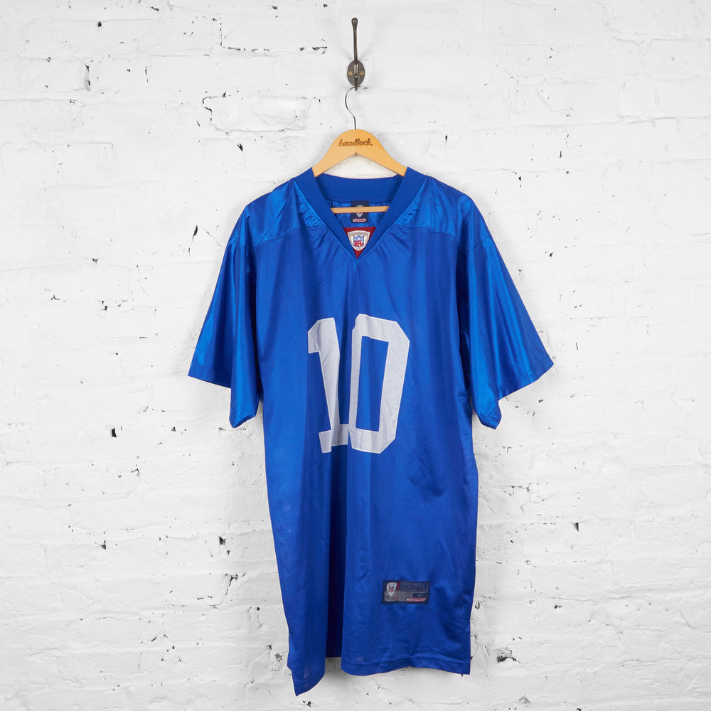 Vintage Reebok New York Giants NFL Jersey - Blue - XL