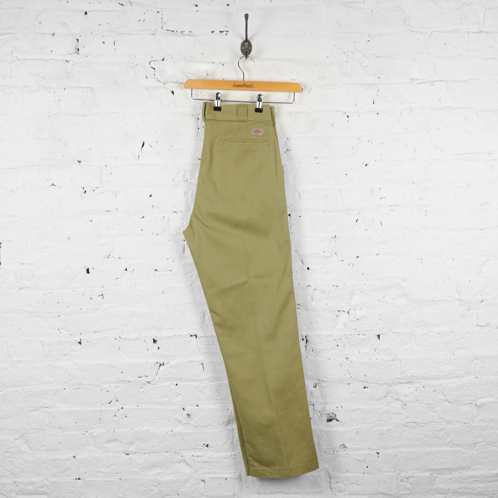 Vintage Dickies Workwear Trousers - Beige - L