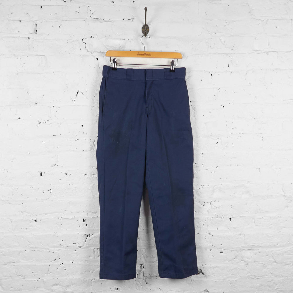 Vintage Dickies Workwear Trousers - Navy - S - Headlock