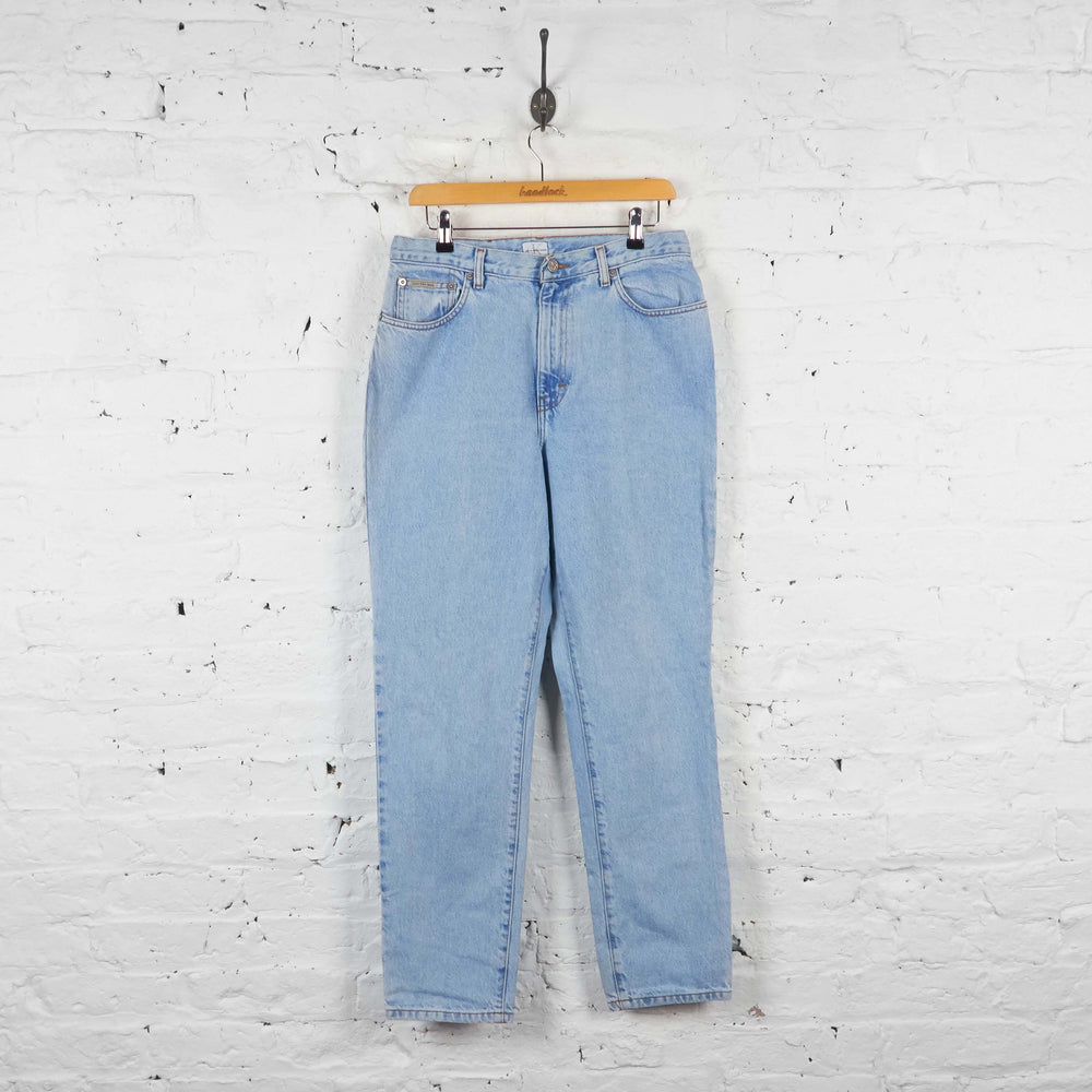 Vintage Women's Calvin Klein High Waisted  Jeans - Blue - S