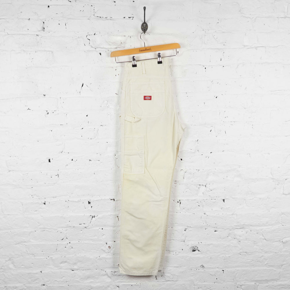 Vintage Dickies Cargo Trousers - White - XL