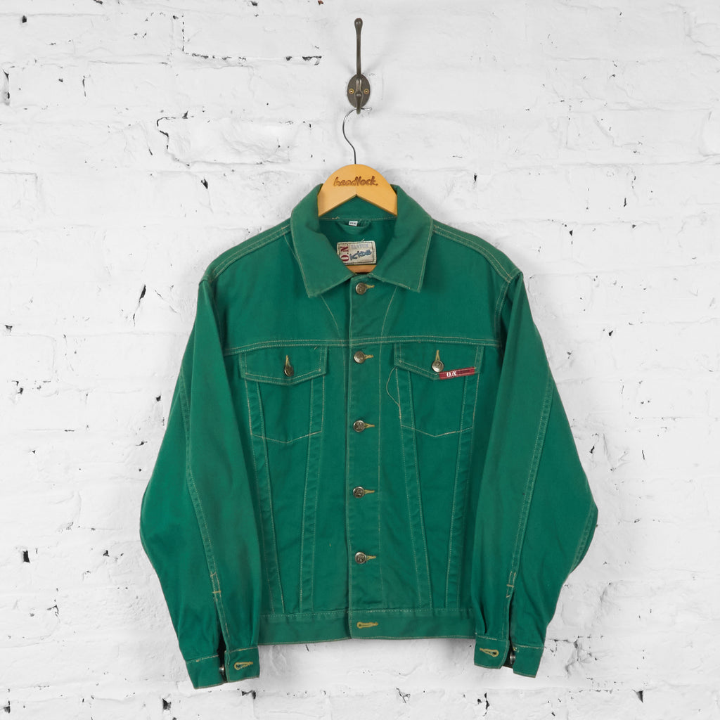 Vintage Youth Denim Jacket - Green - XL - Headlock