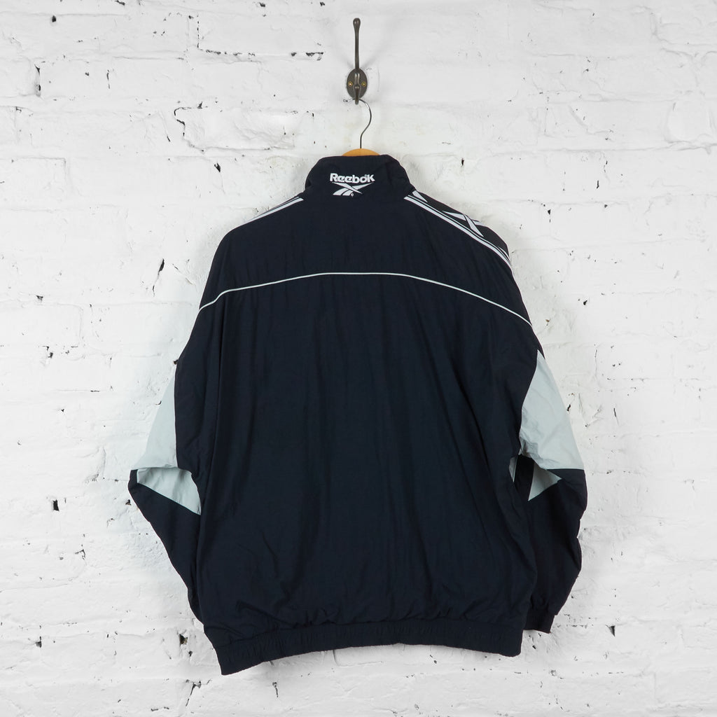 Vintage Reebok Windbreaker Jacket - Black - M - Headlock
