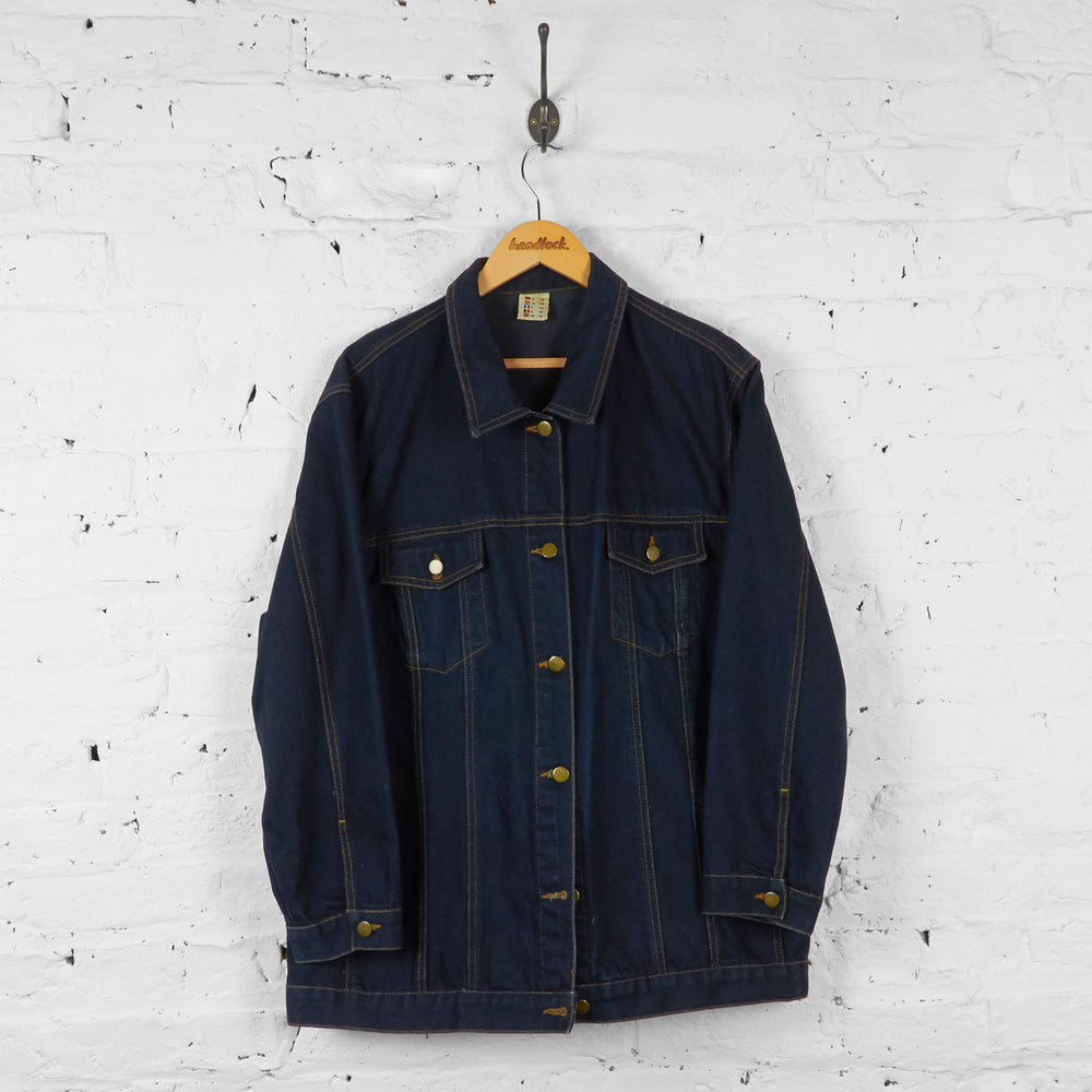 Vintage Denim Jacket - Navy - XL - Headlock