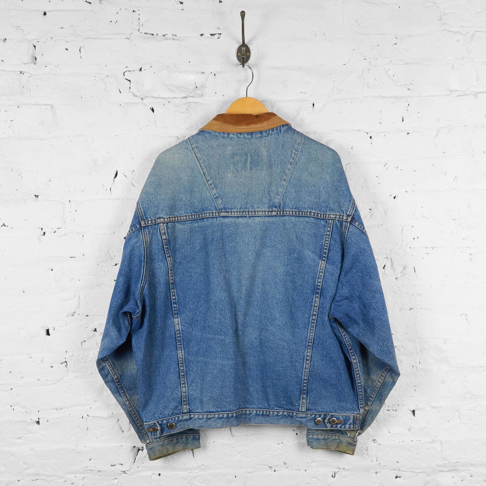 Vintage Timberland Denim Jacket - Blue - XL - Headlock