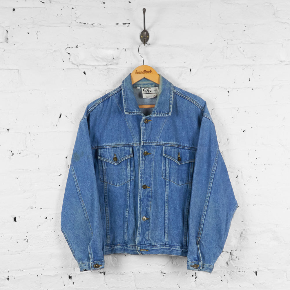 Vintage Looney Tunes Denim Jacket - Blue - S