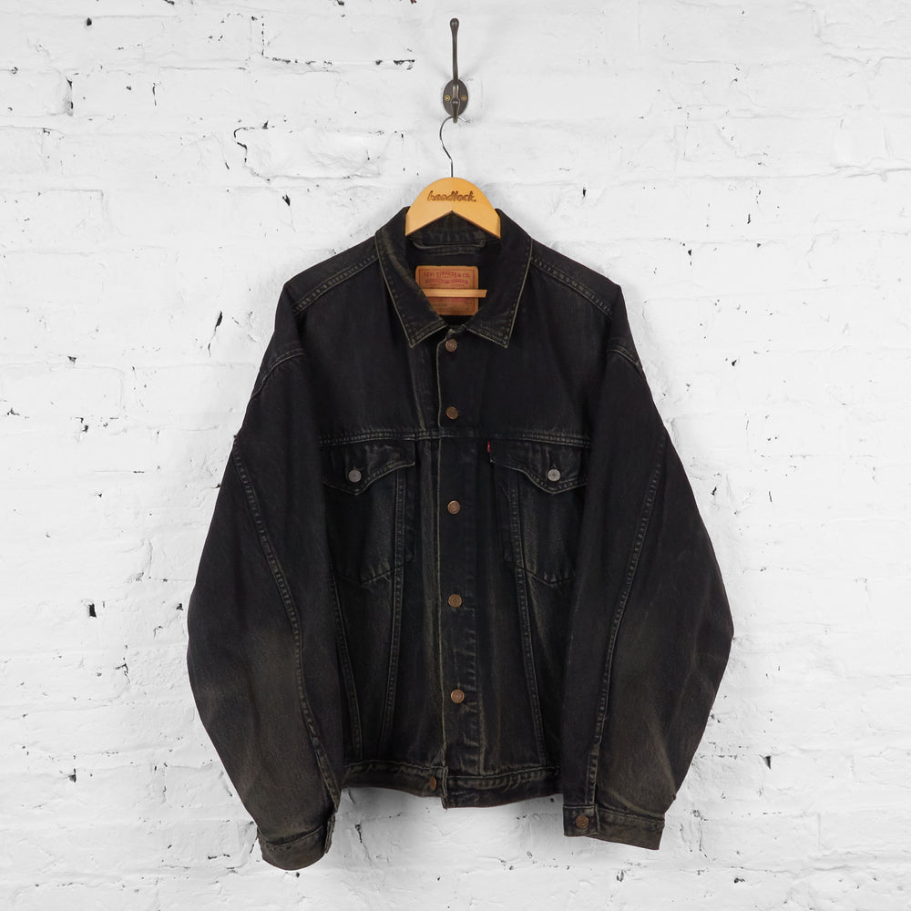 Vintage Levi's Denim Jacket - Black - XL - Headlock
